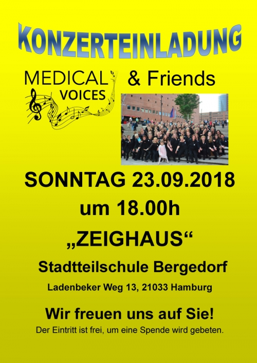 "Chor Workshop ""Medical Voices"""
