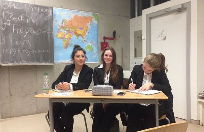 The EurOpean debating championship – a field report