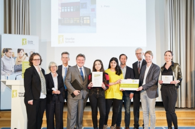 And the winner is... Stadtteilschule Bergedorf!